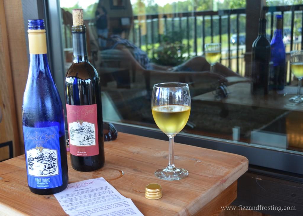 Saude Creek white wine