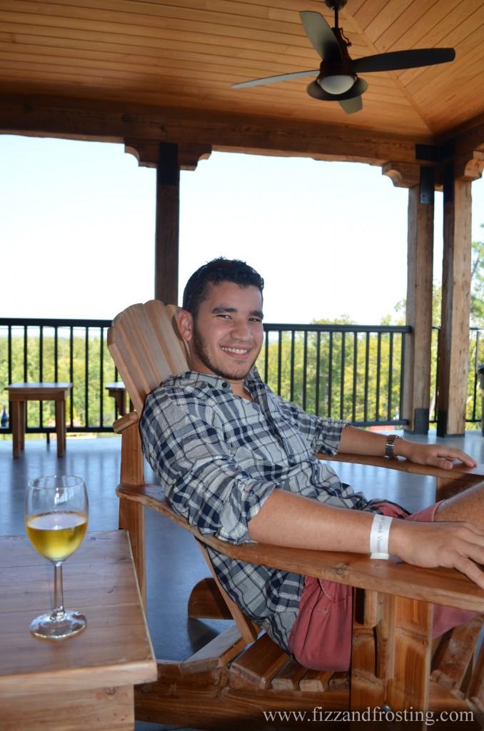 Richmond winery porch