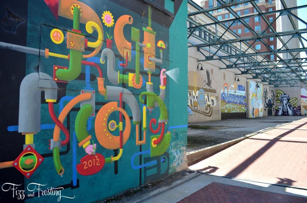Richmond Canal Walk Street Art