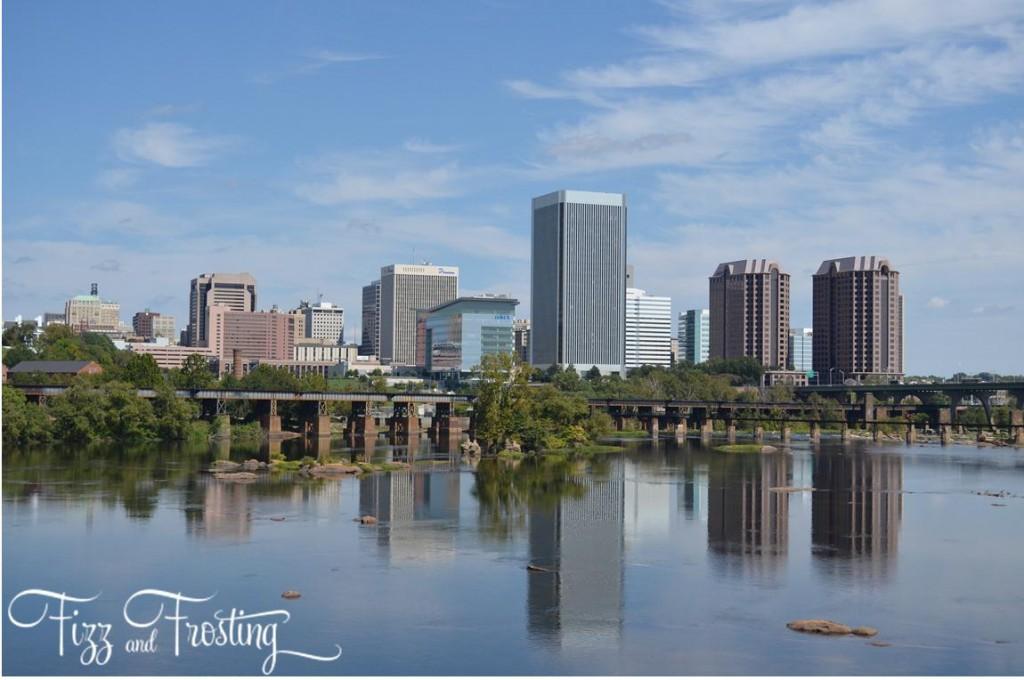 Downtown Richmond view from Belle Isle