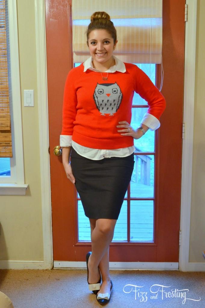 wear animal sweater work
