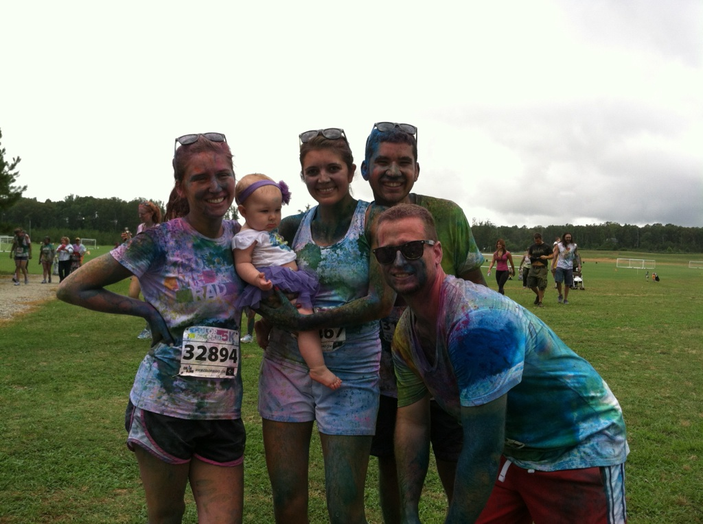 top 5 color run advice