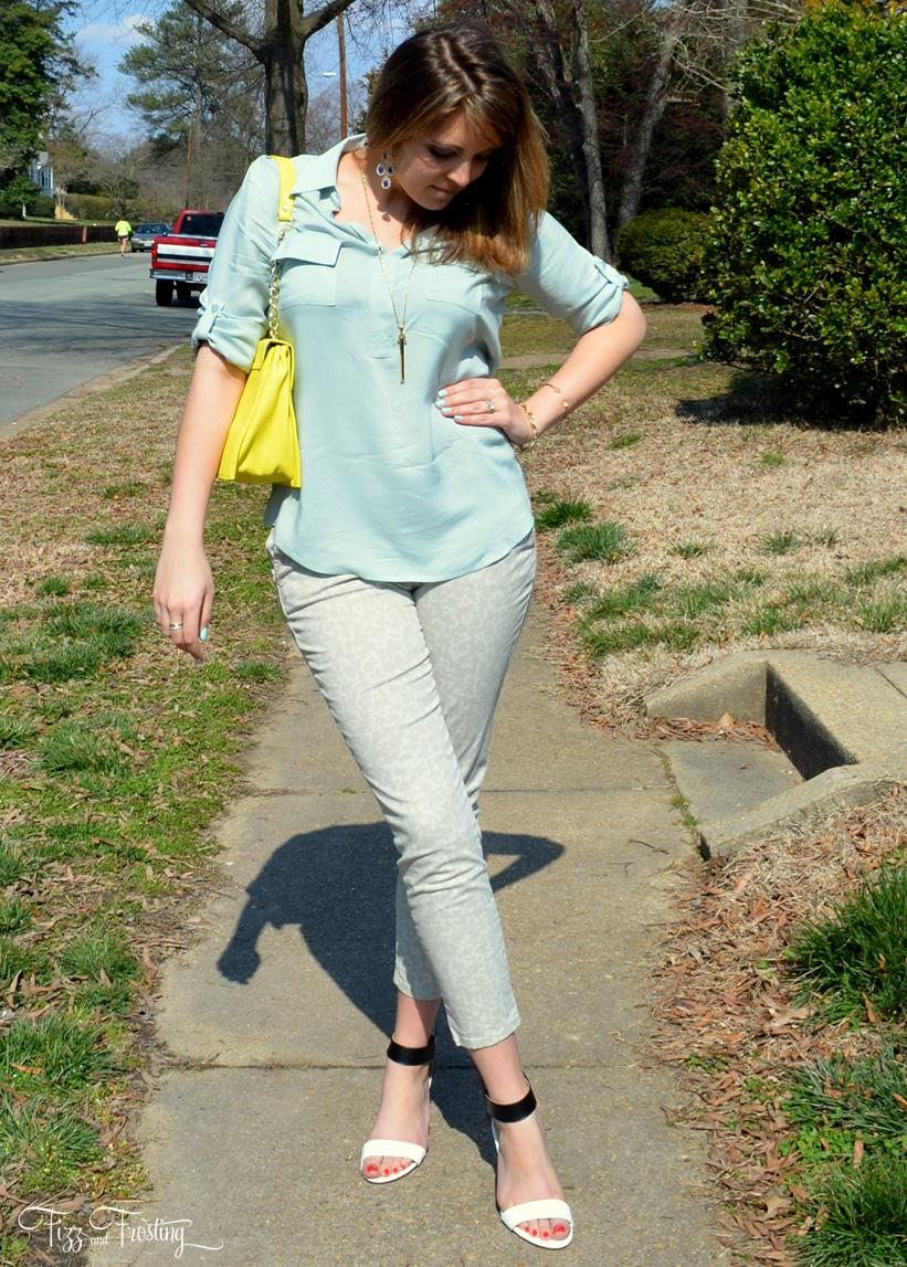 how to wear mint spring