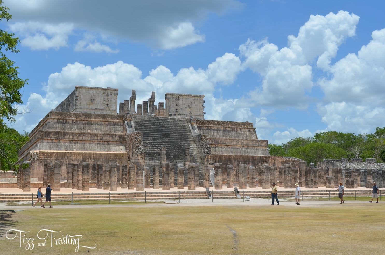 what visit in Mexico - Chichen Itza temples. Click through to see about the other sites you won't want to miss! | www.bylaurenm.com