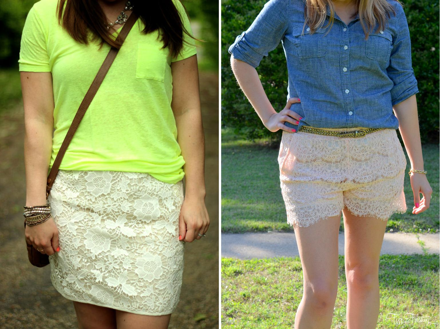 casual lace spring summer