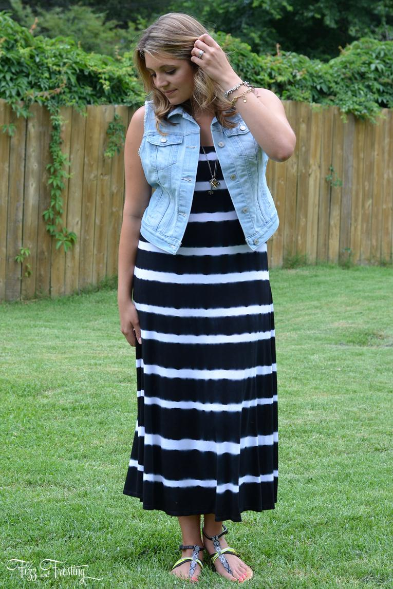 how wear maxi dress