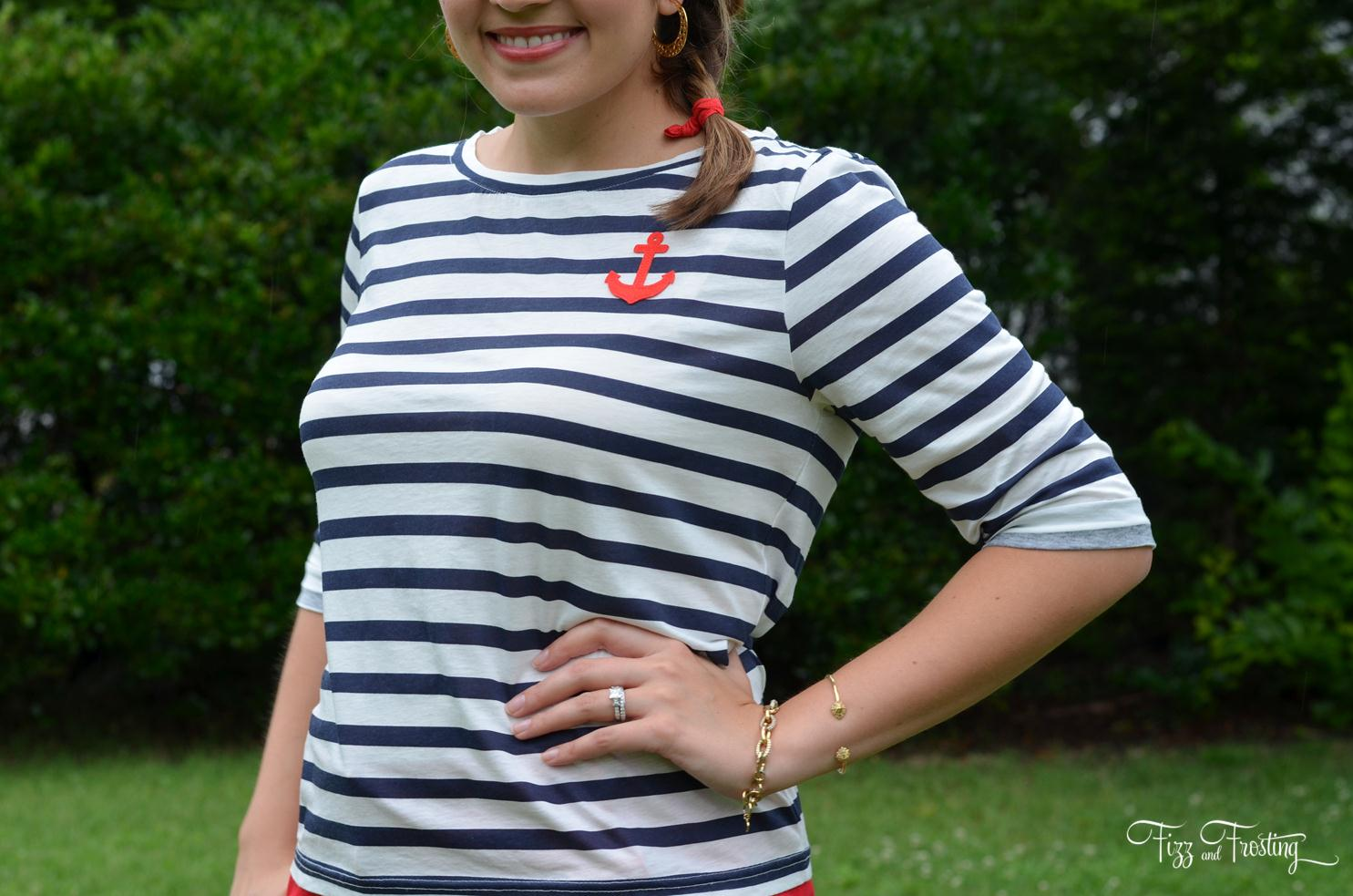 fourth of july J.crew tee