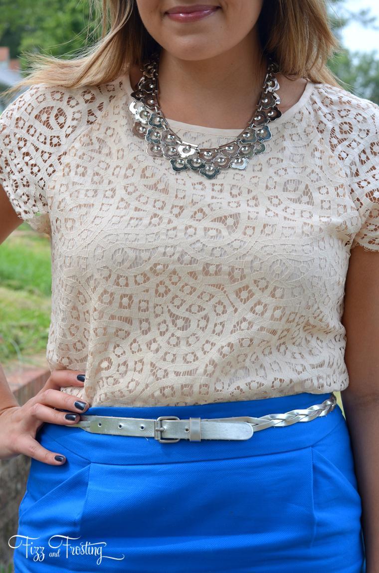 silver skinny belt metallics