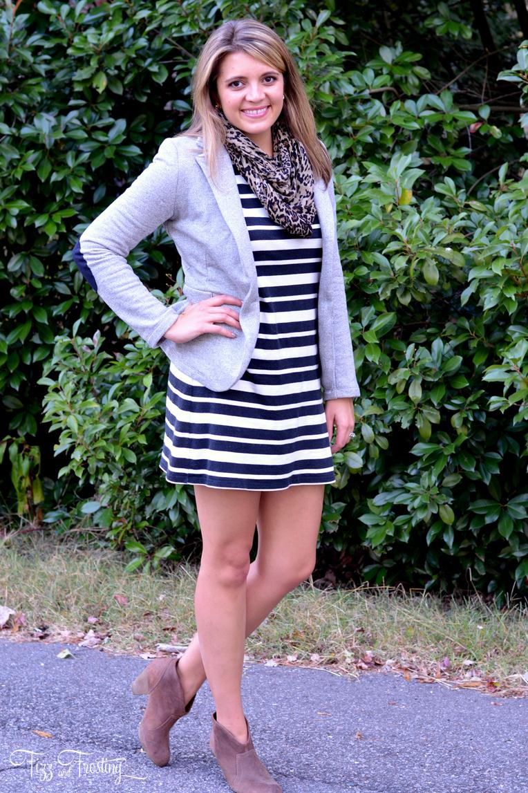 Black And White Striped Blazer Outfit Black And White Striped