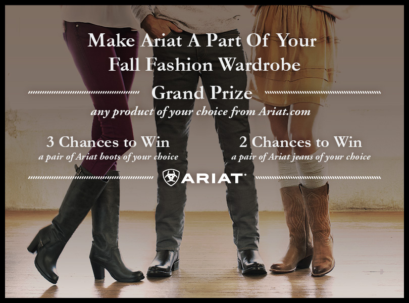 win ariat boots