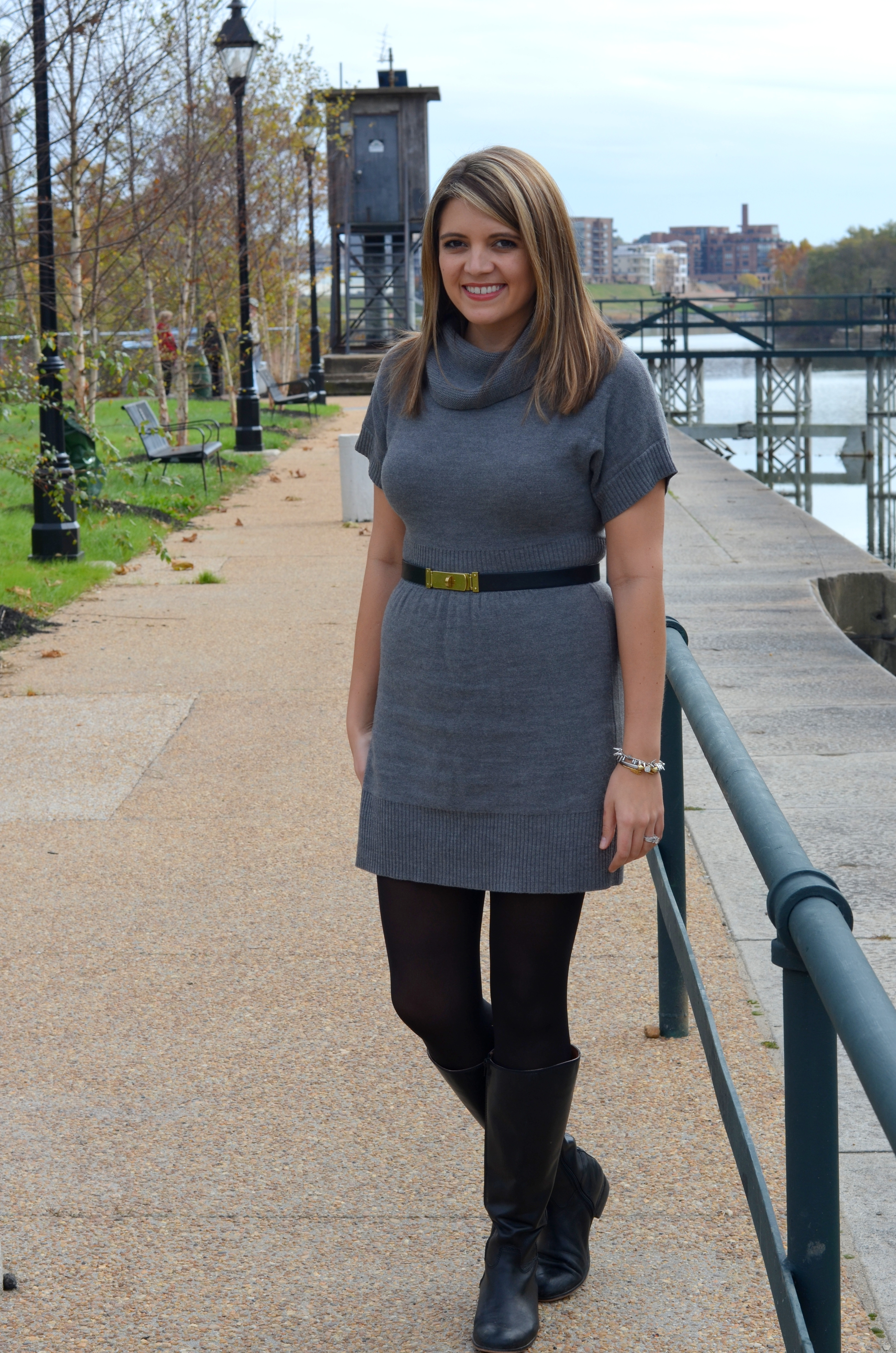 Belted sweater dress a sephora giveaway
