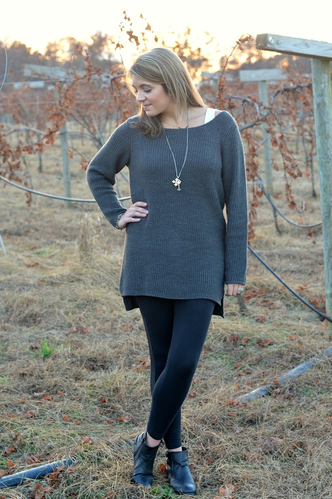 over-sized gray sweater target