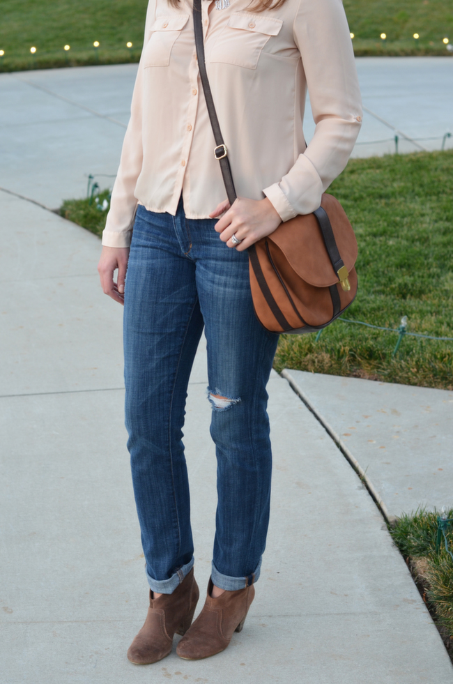 cuff jeans for booties
