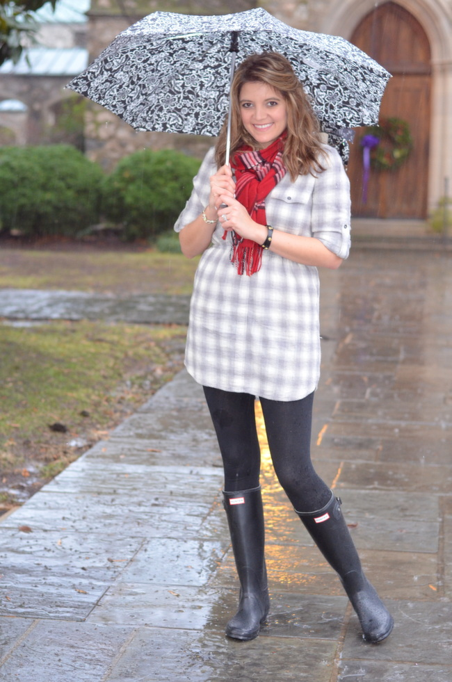 can wear hunter boots for winter