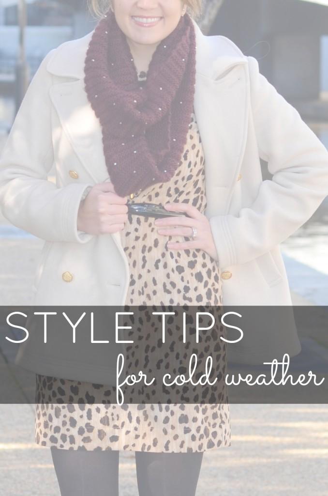 cold weather advice fashion