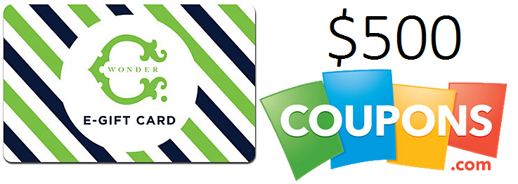 Coupons.com giveaway C. Wonder