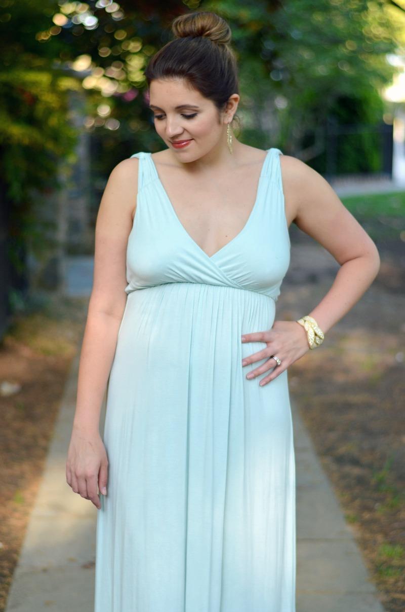 Dressing up a Maxi Dress | By Lauren M