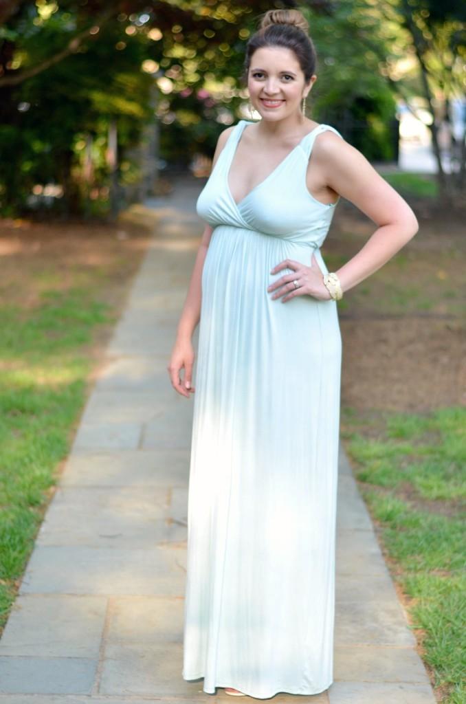 maternity maxi wedding guest