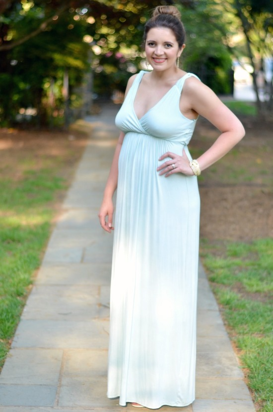 how style a maxi dress wedding