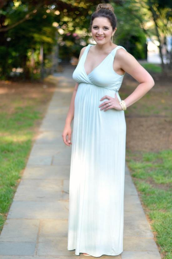 how style a maxi dress wedding