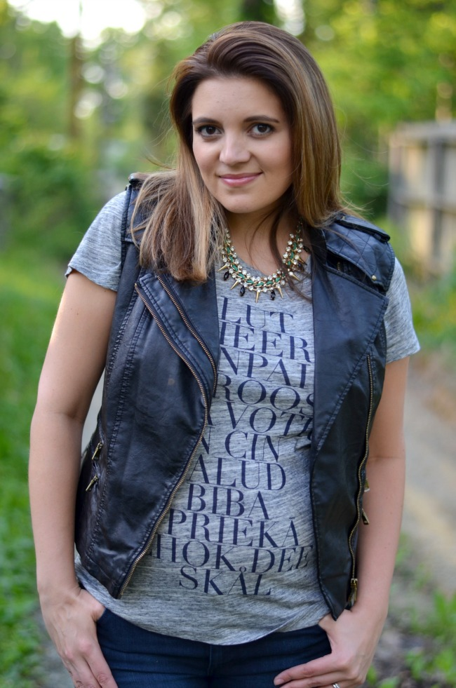 how style leather vest
