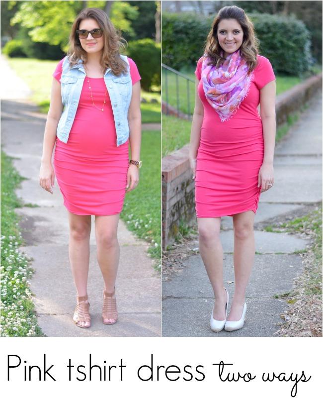 maternity shirt dress style