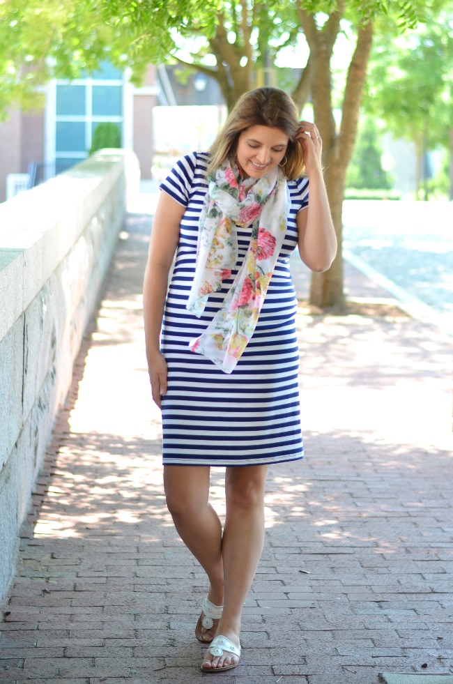 style striped dress