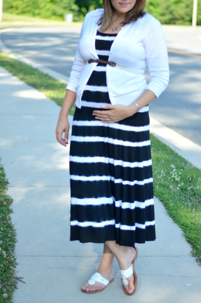 belted tank maxi dress