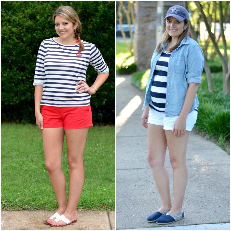 how to wear stripes