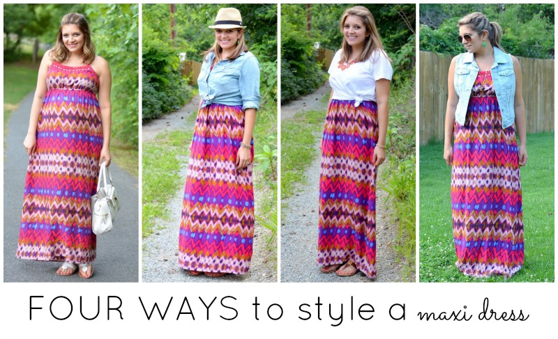 four ways to wear a maxi