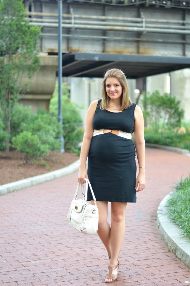 Mix it: Maternity Tank Tshirt Dress | By Lauren M