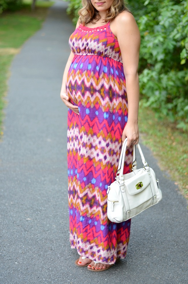 regular maxi dress maternity