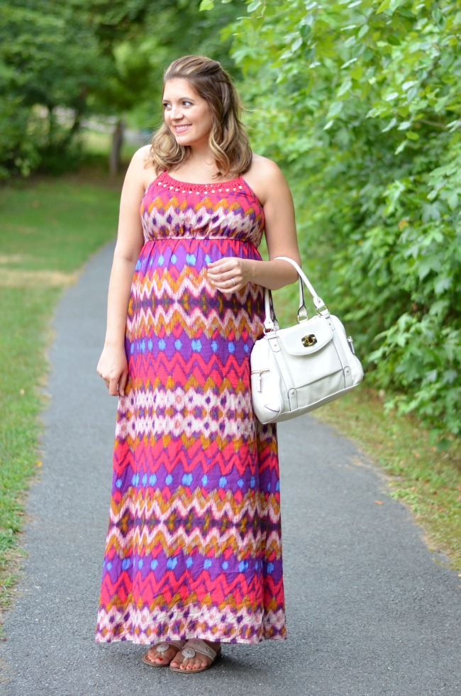 tribal maxi dress target