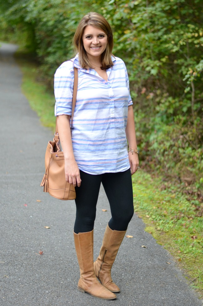 how wear tunic and leggings