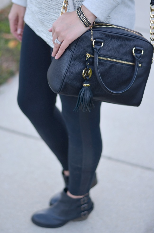 leggings with booties