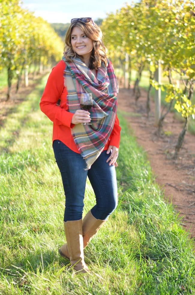 fall winery visit