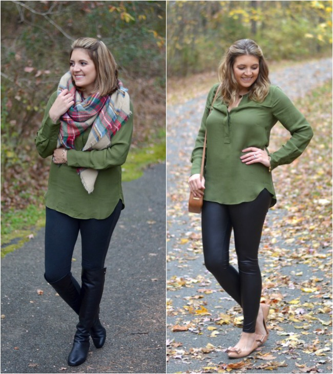 how wear olive
