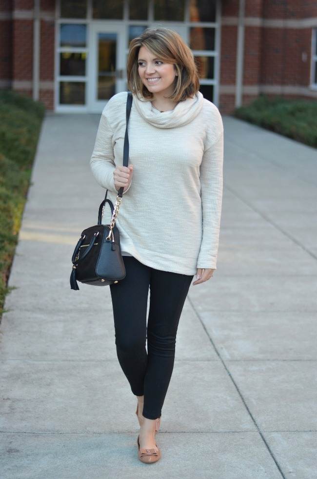 target cowl neck sweater