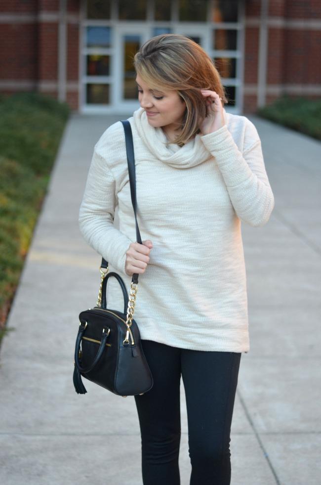 tunic sweater with leggings