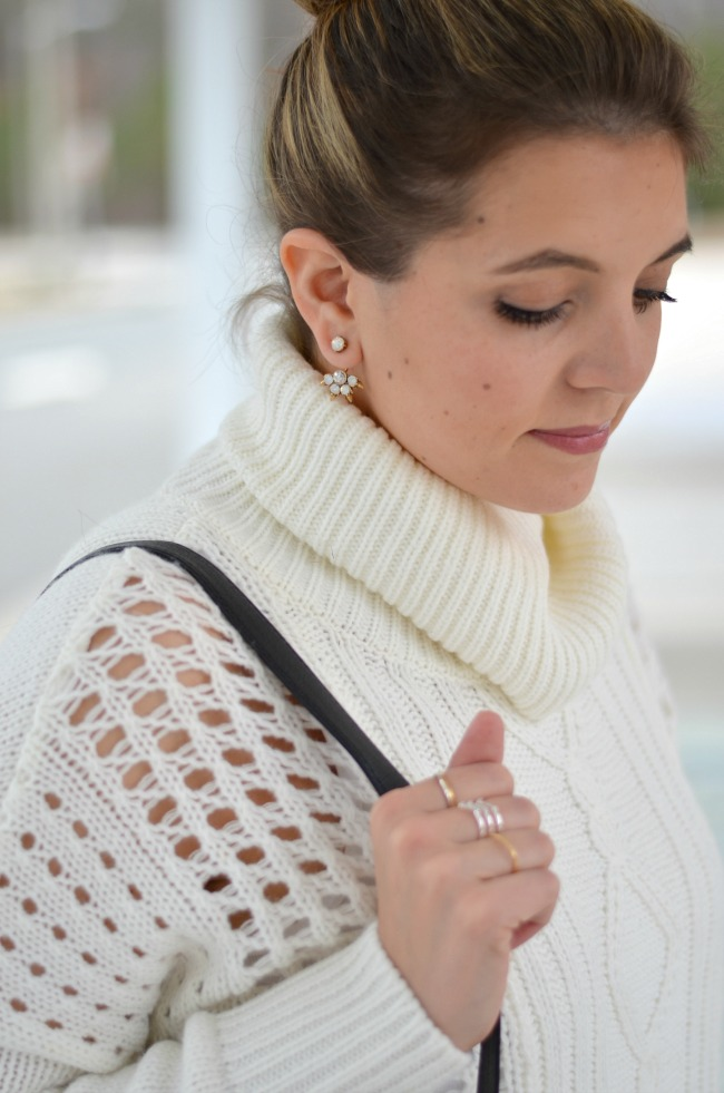 stella & dot ear jacket