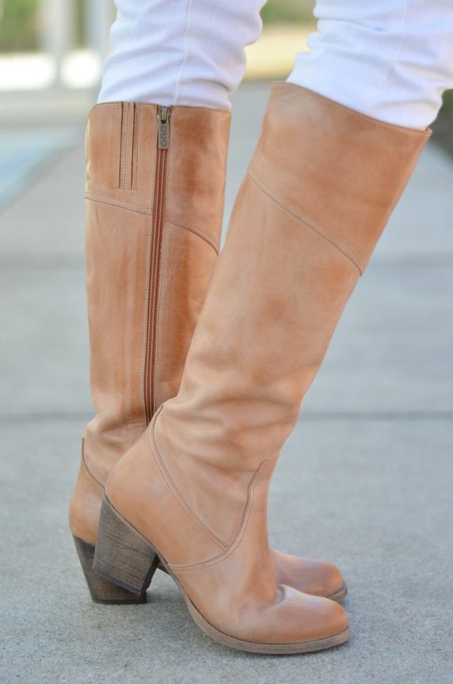 DUO Denver tan boot