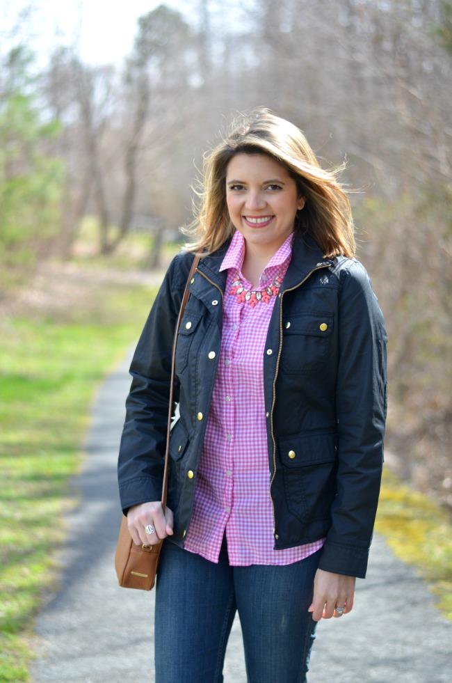 wear field jacket for spring