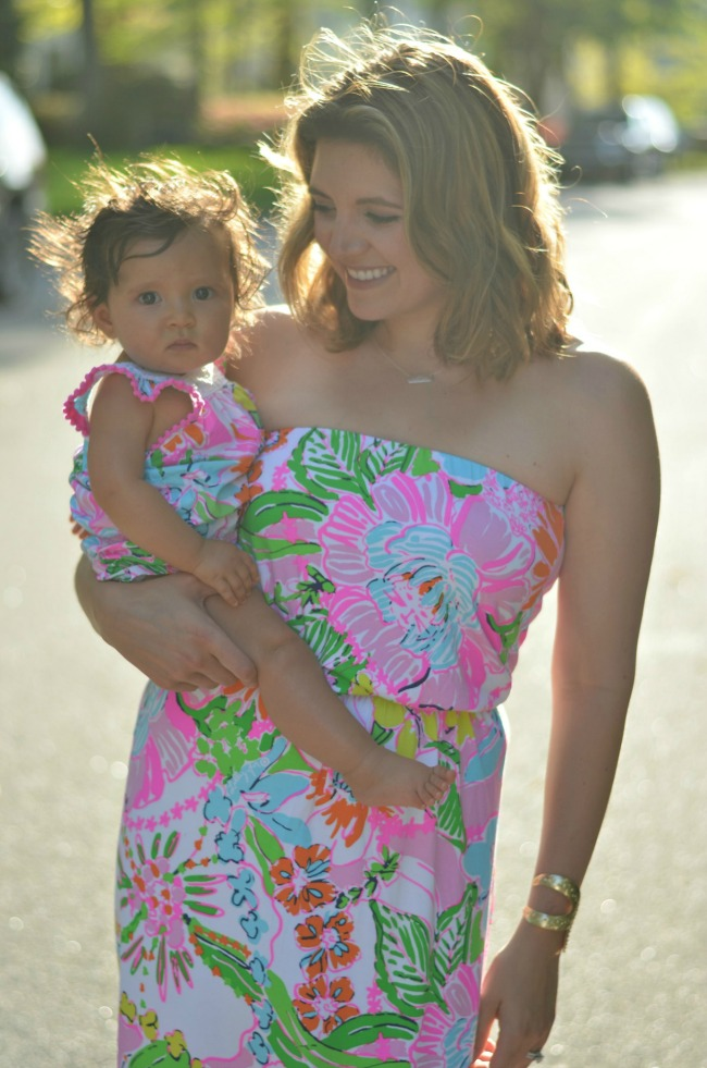 mother daughter matching lilly pulitzer nosie posey