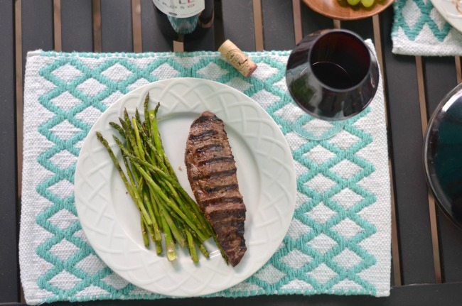 wine to drink with steak