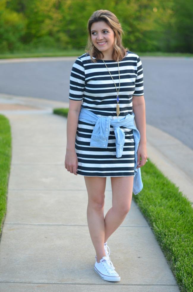 ways to wear a tshirt dress