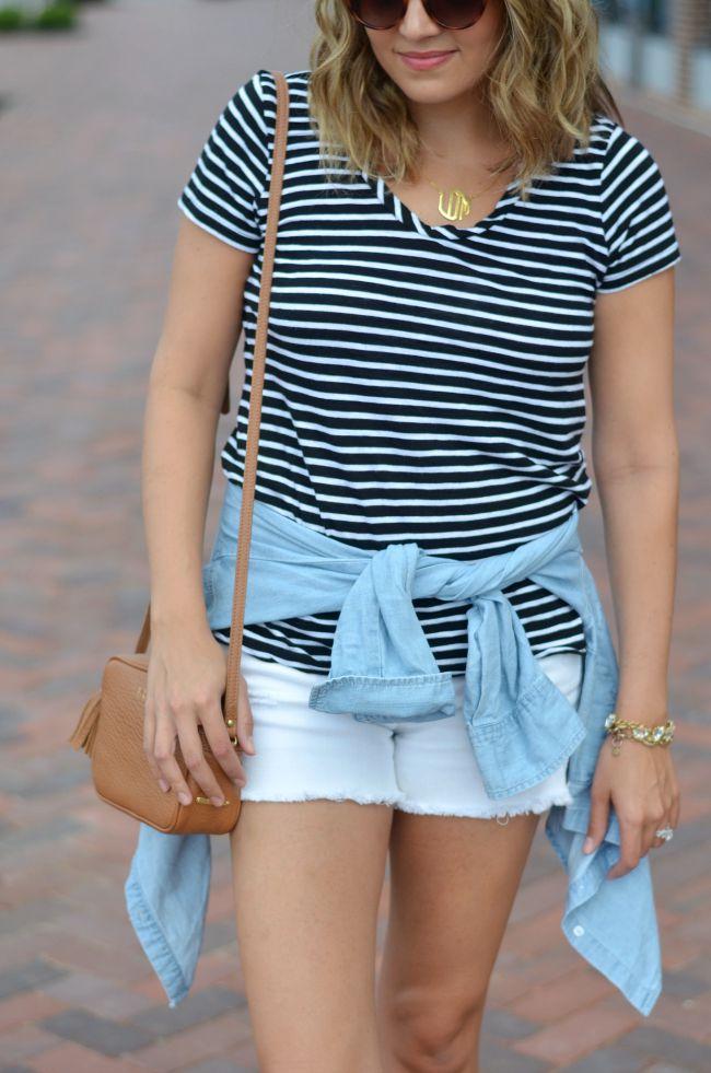 chic summer style via @fizzandfrosting