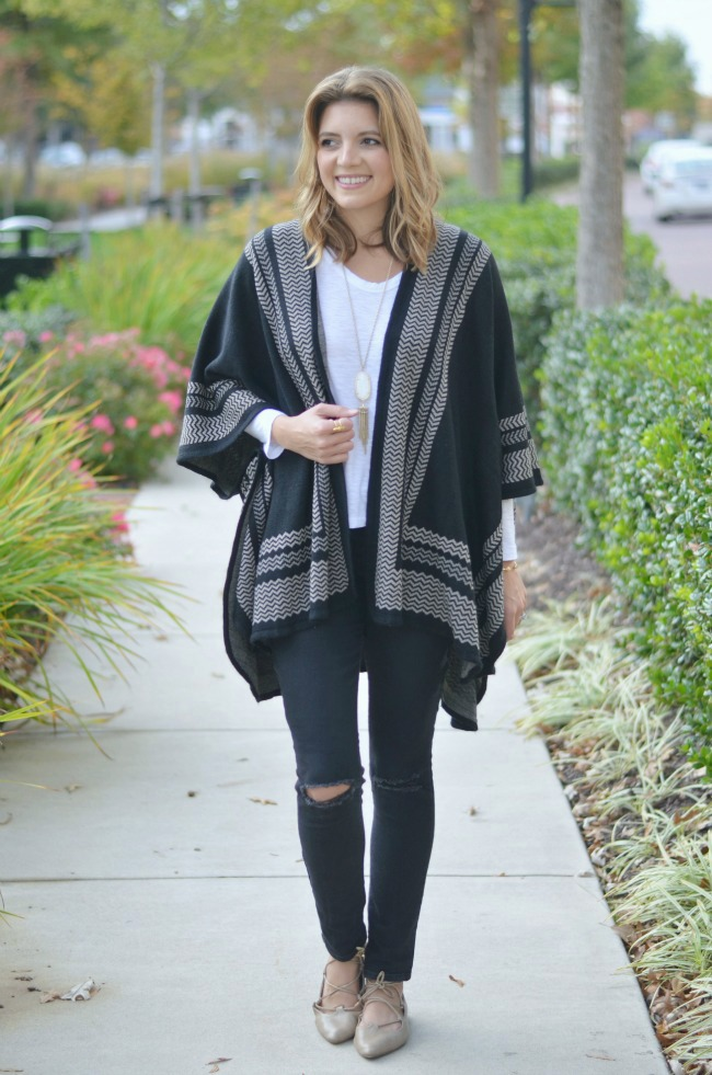 what to wear to a fall concert via fizzandfrosting.com