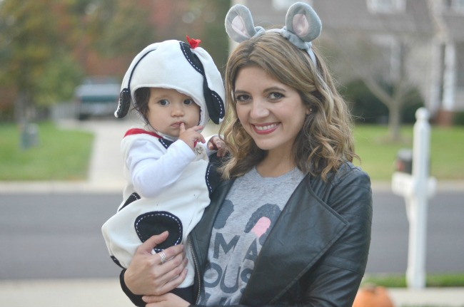Halloween - mom and daughter