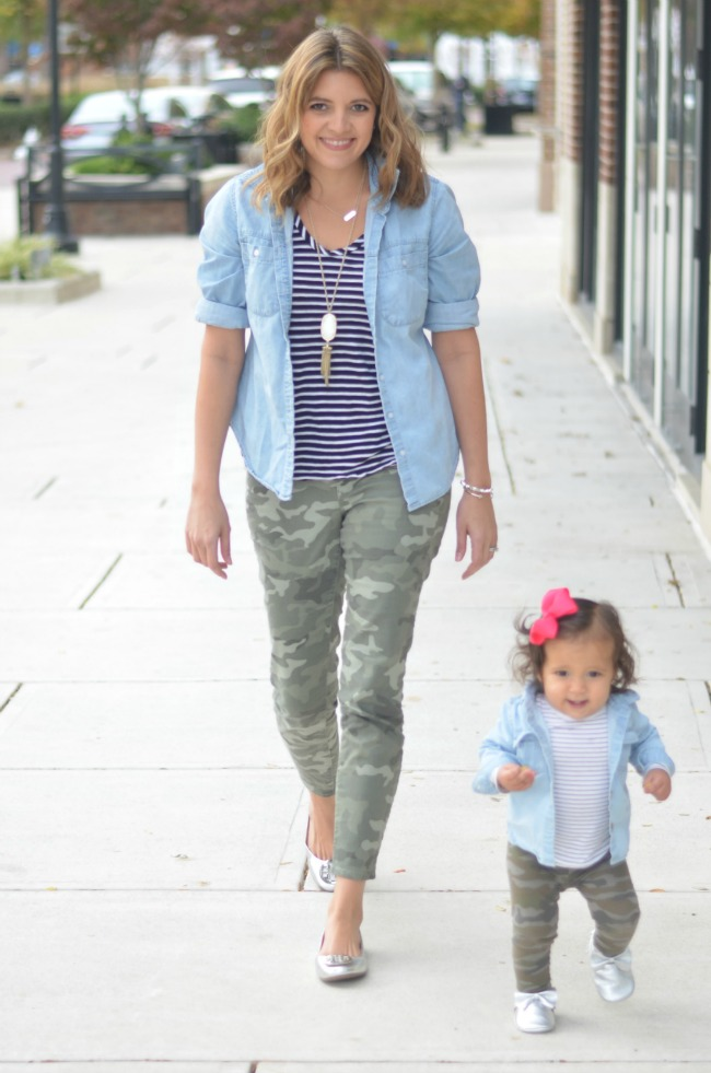 mommy daughter style for fall via fizzandfrosting.com