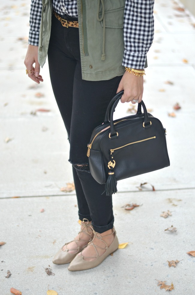 outfits lace up flats via fizzandfrosting.com